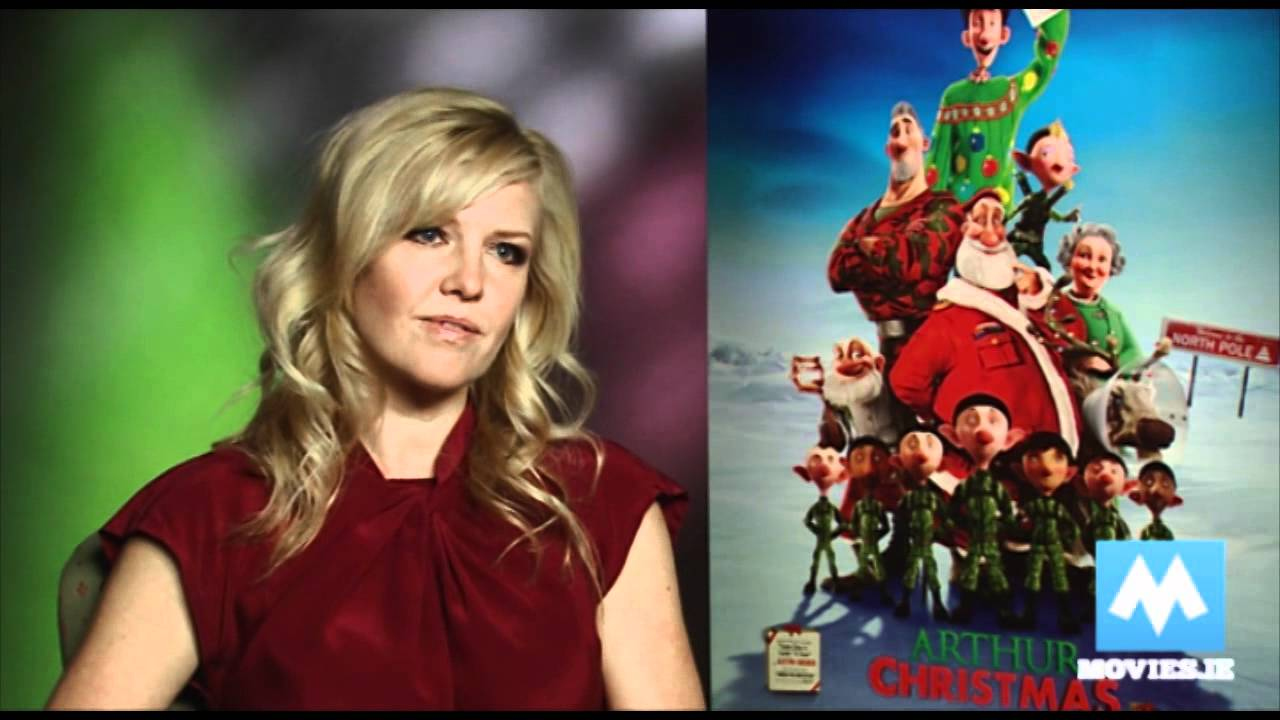 Arthur Christmas From Aardman Interview With Ashley Jensen Star Of Ugly Betty Extras Youtube