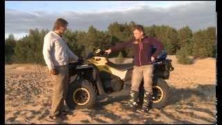 Обзор квадроцикла BRP outlander MAX и гидроциклов Spark 900.