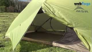 MSR Hubba Hubba 2 Person Tent - strong, roomy and lightweight backpacking tent. Thumbnail