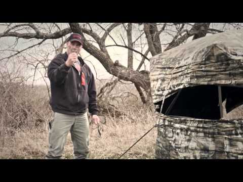 How To Secure A Ground Blind With Stakes