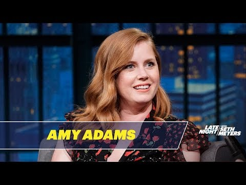 Amy Adams Keeps Accidentally Calling Celebrities