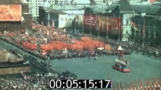 Первомай 1977 года в Москве