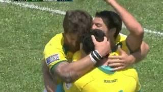 Brasil 35 x 22 Paraguai pelas eliminatórias da Copa do Mundo de Rugby
