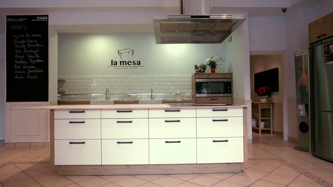 la mesa escuela de cocina m laga youtube