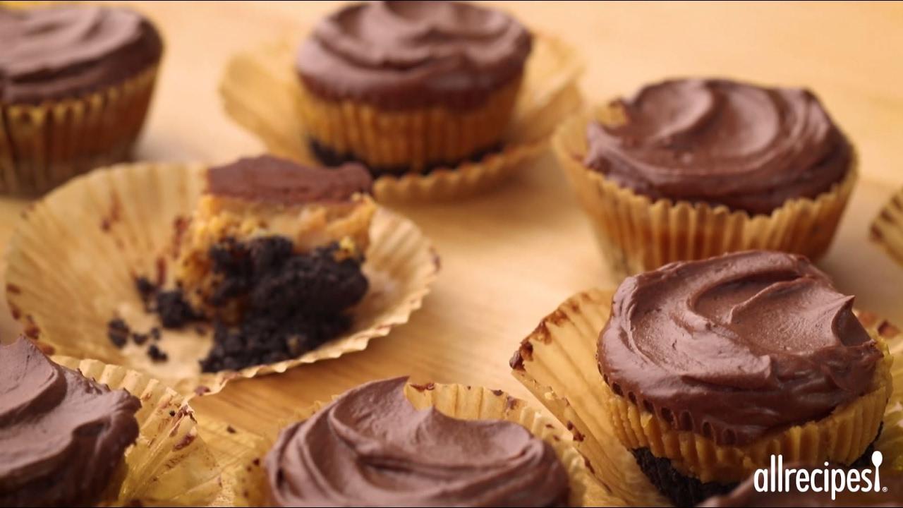 How to Make Peanut Butter Cheesecake Cups   Dessert Recipes   Allrecipes.com