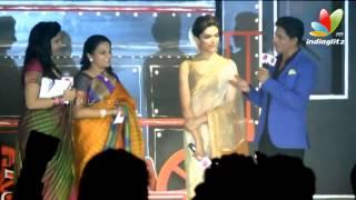 Shahrukh Khan talks about Lungi Dance | Chennai Express Press Meet | Fashion Show | Songs