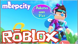 I TURNED A CHILD INTO ROBLOX AND ADOPTED A MEEP AT MEEP CITY PETER GAMES PETER PLAY