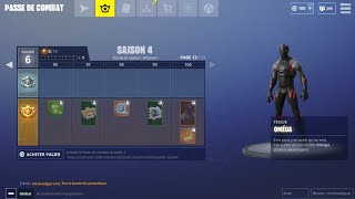 I BUY the 100 PALIERS OF COMBAT SAISON 4 FORTNITE BATTLE ROYALE! V BUCKS FREE TROLL