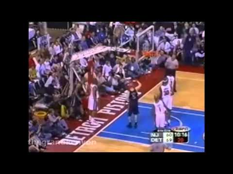Kenyon Martin 25 points & 9 rebounds vs. Detroit Pistons (May 20, 2003)