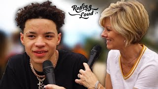 Mom Interviews Lil Mosey