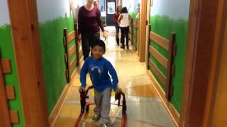 Osteogenesis Imperfecta. Angel is reaching new heights at Children's Village!