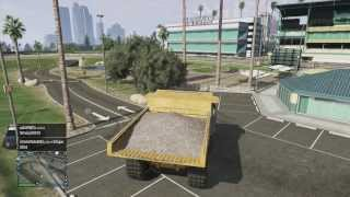 GTA 5 - How to get the giant dump truck