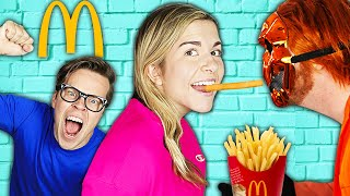 We Surprised Maddie's Crush and Opened a McDonald's in Our House!