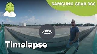 Samsung Gear 360 timelapse sample