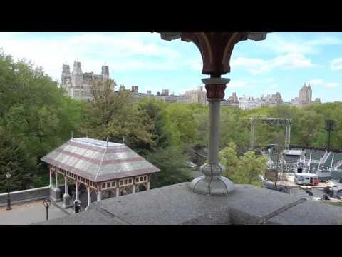 Inside Belvedere Castle In Central Park