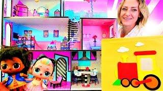 LOL bebekleri ve Barbie ile sihirli kutu oyunları. En güze...