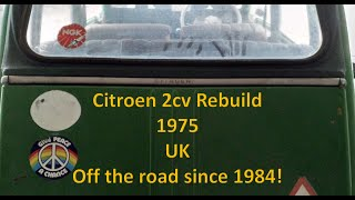 Citroen 2cv Rebuild Part 18