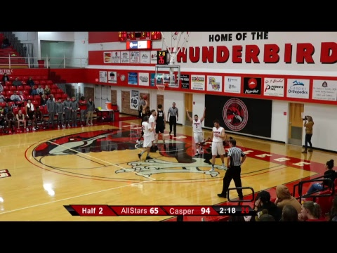 2019 Casper College Men's Basketball - Casper vs. WY All-Stars