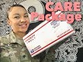 MILITARY DEPLOYMENT CARE PACKAGE UNBOXING | vlog