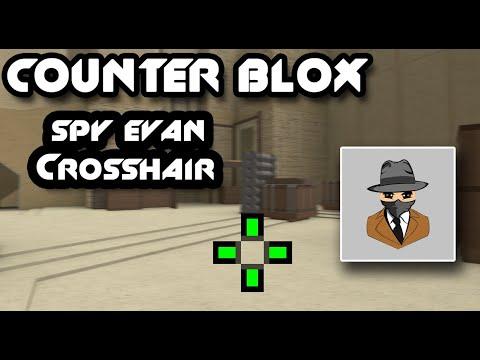 Spy_Evan CROSSHAIR | ROBLOX COUNTER BLOX