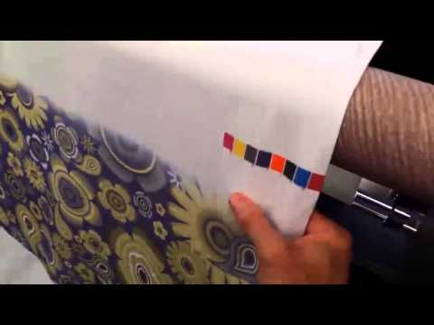 GoTx Direct-2-Textile Printer--4-Way Stretch Fabric Printing Test