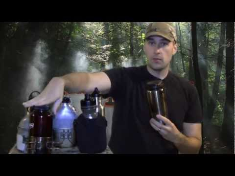 What is the Best Canteen for Camping, Hiking, and Wilderness Survival, Equip 2 Endure