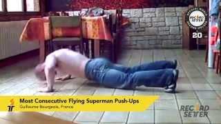 Extreme Push-Up World Records