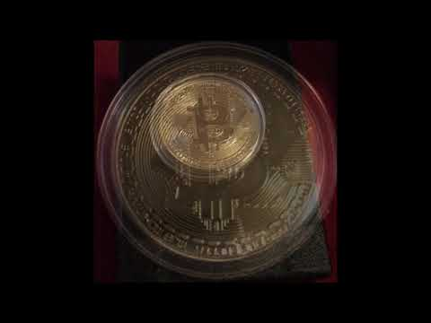 UNBOXED 24K Gold Plated Bitcoin