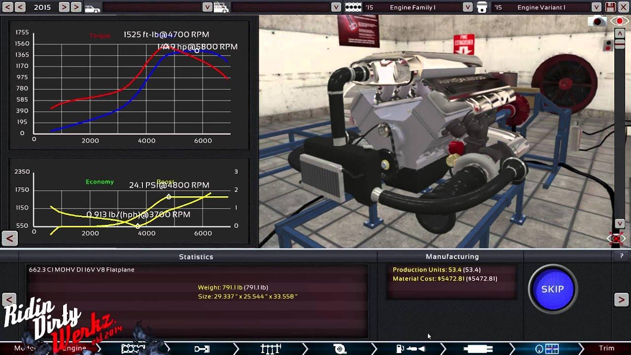 Monster 2400 Hp Twin Turbo 662ci V8 Engine Build Dyno