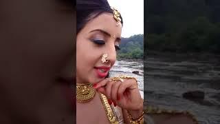 Sanjjanaa Gilrani Sing Telugu Song @ Swarakhadgam Serial Shooting Site