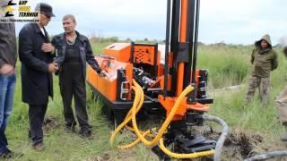 Обучение бурению клиентов из Смоленска на самоходной буровой установке SBU-80LS от БурСпецТехники