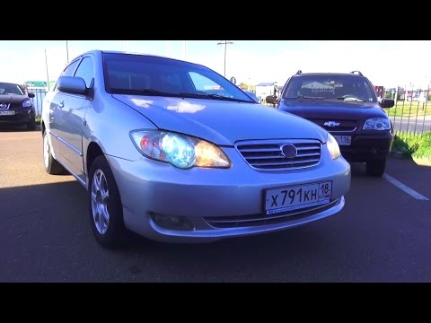 2008 BYD F3. Start Up, Engine, and In Depth Tour.