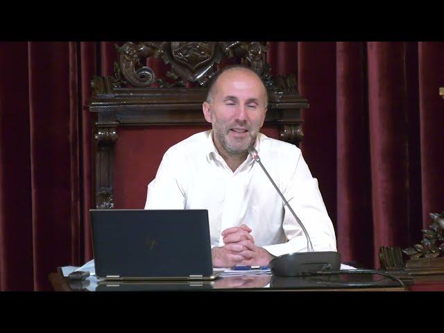 Rueda de Prensa: Gonzalo Pérez Jácome, alcalde de Ourense 6/4/21