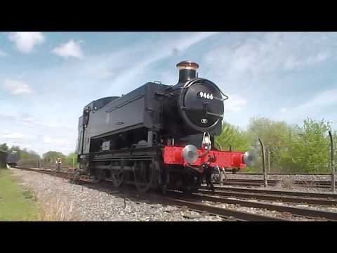 Didcot Railway Centre Steam Gala 1st May 2016 Part 1