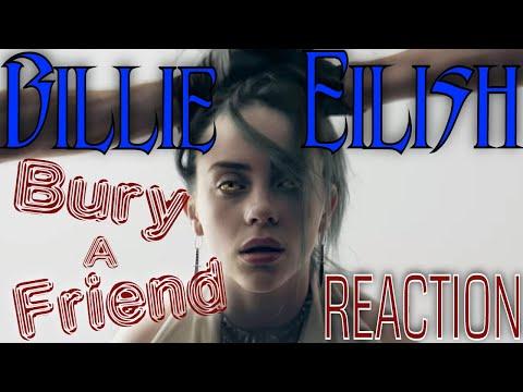 Billie Eilish - Bury A Friend - She Is So DARK! Rock Musician REACTION