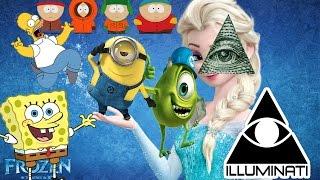 Illuminati Symbolism in Movies, Music, Nudity in Cartoons