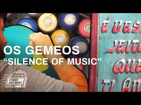 """Os Gemeos """"Silence Of Music"""" @ Lehmann Maupin"""
