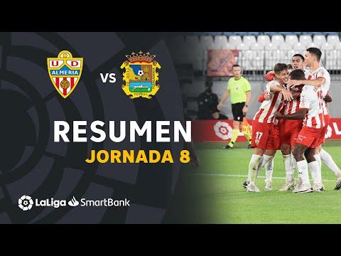Almeria CF Fuenlabrada Goals And Highlights