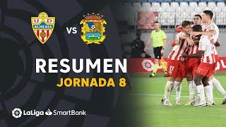Resumen de UD Almería vs CF Fuenlabrada (3-0)