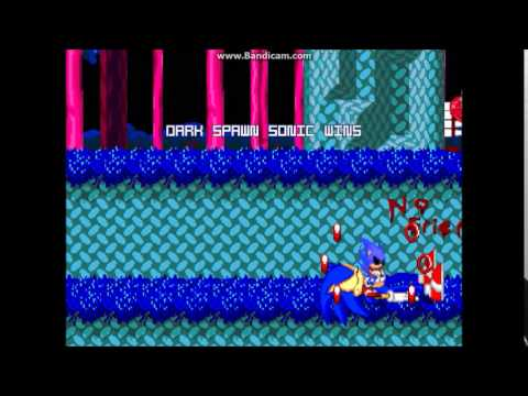 MUGEN Halloween 2014- Dark Spawn Sonic and Sonic in Hell Stage