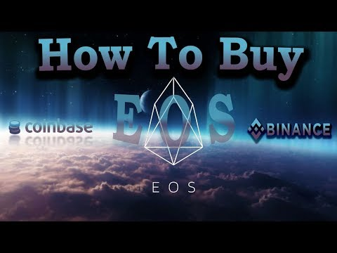 How to buy EOS Tokens with Coinbase(GDAX)