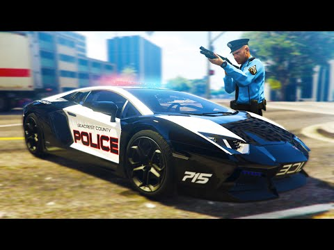 GTA 5 Mods - BEING A COP IN GTA 5! (GTA 5 LSPDFR)