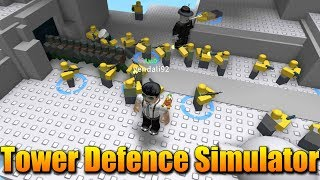 """""""LEN"""" TOWER DEFENCE SIMUL-TOR!😱🔥 Roblox Tower Defence Simulator"""