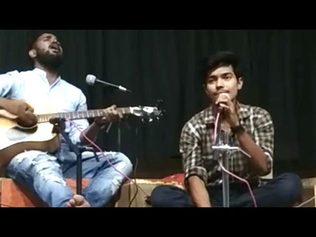 Alvida : A Heart touching performance by Sahil Khan in mic & manch : Swar - Raag