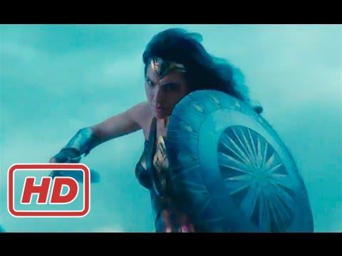 Wonder Woman Movie 2017 - Gotham Restore Peace - Gal Gadot, Chris Pine Superhero Movie HD 2017