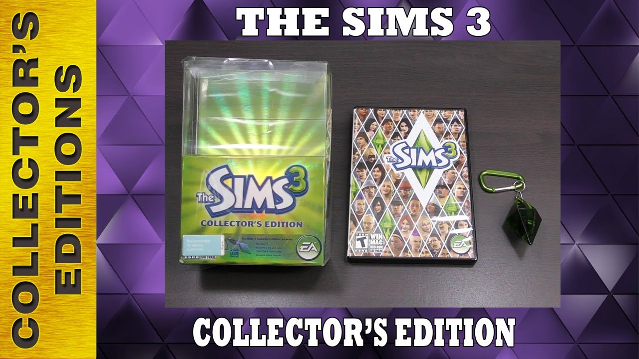 The Sims 3 Collector's Edition (PC) with USB Plumbob Flash Drive