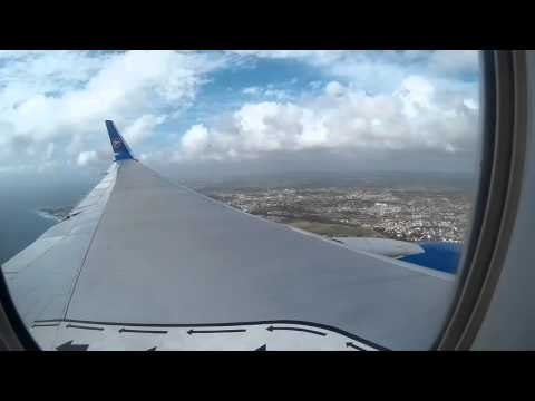 Condor Boeing 767-300ER Approach Barbados RWY 09 time laps