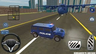 US Police Hummer Car Quad Bike Transport | Hammer Police Driving - Android GamePlay HD