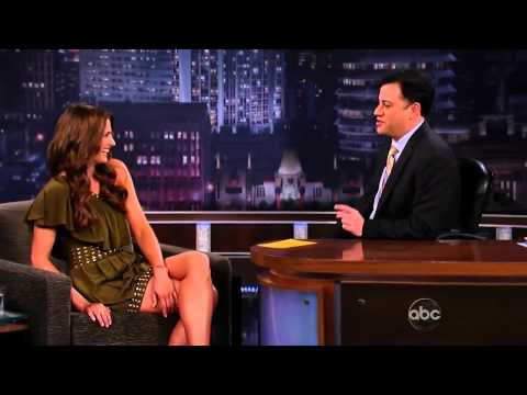 Stana Katic on Jimmy Kimmel 2010 (Rus Sub)