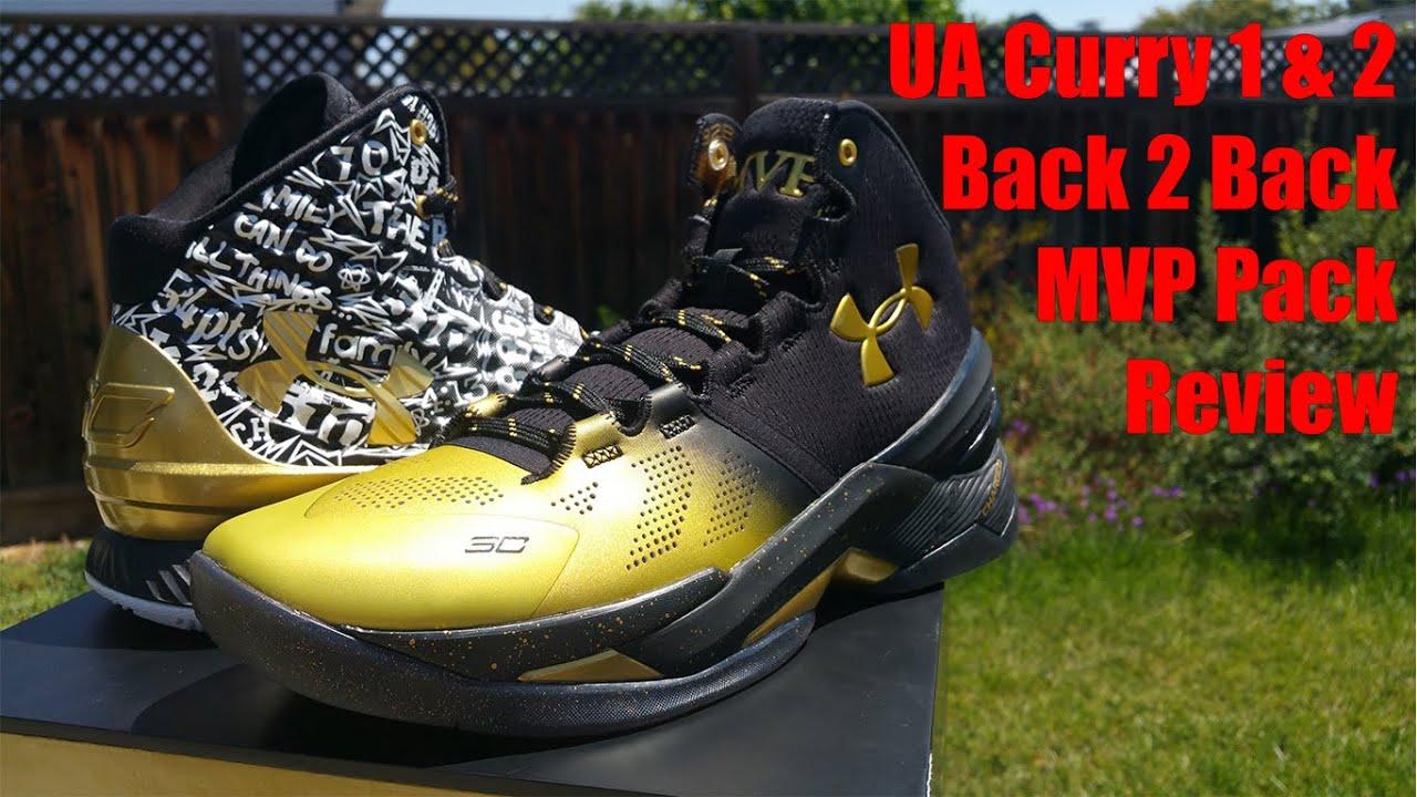 men's ua curry back 2 back mvp pack